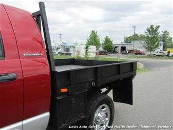 2006 Dodge Ram 3500 SLT 5.9 Cummins Turbo Diesel 4X4 Mega Cab Flat Bed - Photo 23 - Richmond, VA 23237