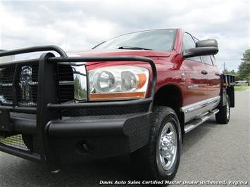 2006 Dodge Ram 3500 SLT 5.9 Cummins Turbo Diesel 4X4 Mega Cab Flat Bed - Photo 21 - Richmond, VA 23237