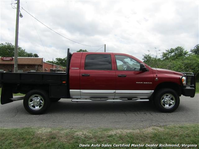 2006 Dodge Ram 3500 SLT 5.9 Cummins Turbo Diesel 4X4 Mega Cab Flat Bed - Photo 11 - Richmond, VA 23237