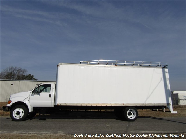 2001 Ford F-650 Super Duty XL Commercial Work Box Van - Photo 2 - Richmond, VA 23237