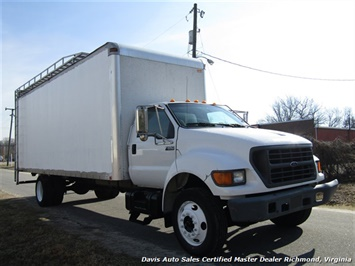 2001 Ford F-650 Super Duty XL Commercial Work Box Van - Photo 6 - Richmond, VA 23237