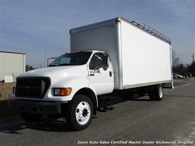2001 Ford F-650 Super Duty XL Commercial Work Box Van - Photo 1 - Richmond, VA 23237