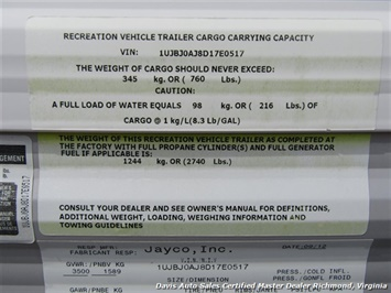 2013 Jayco Jayflight Swift 17 Foot SLX 184 BH Tag Along Camper - Photo 47 - Richmond, VA 23237