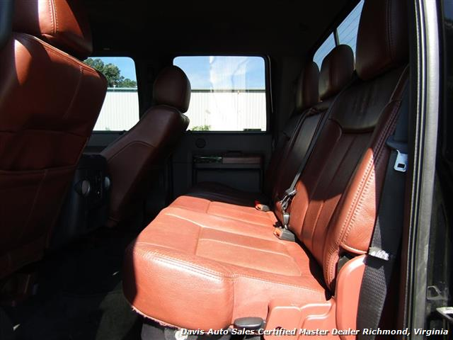 2012 Ford F-250 Super Duty King Ranch 6.7 Diesel Lifted 4X4 Crew Cab Short Bed - Photo 31 - Richmond, VA 23237