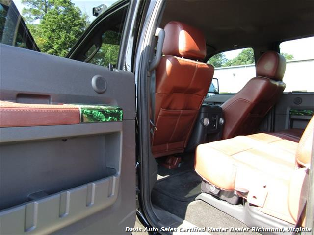 2012 Ford F-250 Super Duty King Ranch 6.7 Diesel Lifted 4X4 Crew Cab Short Bed - Photo 33 - Richmond, VA 23237
