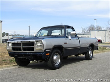 1993 Dodge Ram 250 LE 5.9 Cummins Turbo Diesel Regular Cab Long Bed - Photo 1 - Richmond, VA 23237