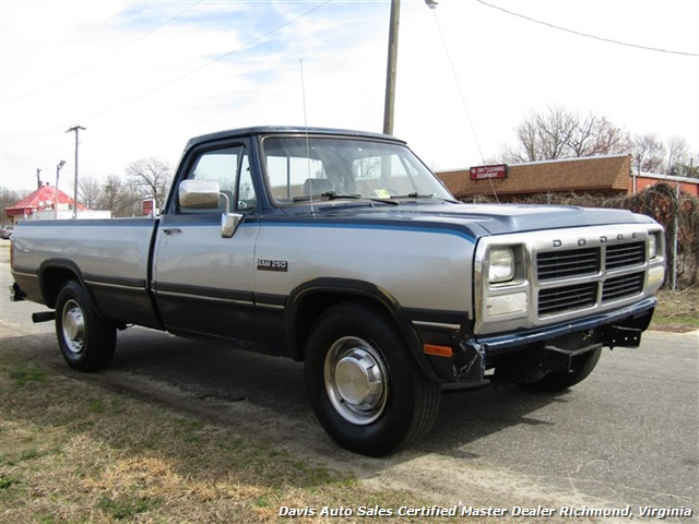 1993 Dodge Ram 250 LE 5.9 Cummins Turbo Diesel Regular Cab Long Bed - Photo 13 - Richmond, VA 23237