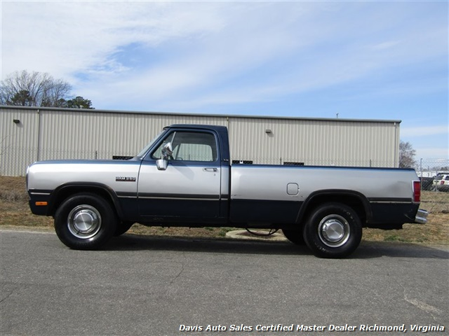 1993 Dodge Ram 250 LE 5.9 Cummins Turbo Diesel Regular Cab Long Bed - Photo 2 - Richmond, VA 23237