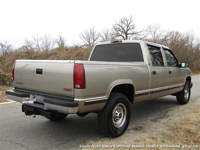 2000 gmc sierra 2500 c k hd sle crew cab short bed classic body loaded sold 2000 gmc sierra 2500 c k hd sle crew