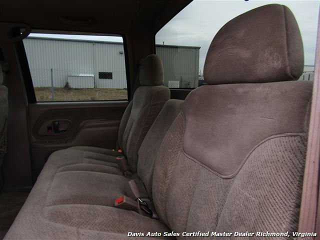 2000 GMC Sierra 2500 C K HD SLE Crew Cab Short Bed Classic Body Loaded - Photo 9 - Richmond, VA 23237