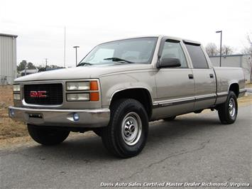 2000 GMC Sierra 2500 C K HD SLE Crew Cab Short Bed Classic Body Loaded - Photo 1 - Richmond, VA 23237