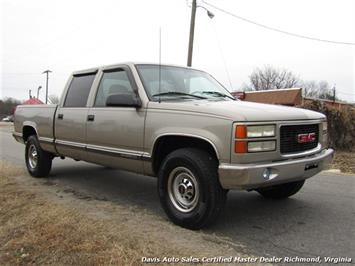 2000 GMC Sierra 2500 C K HD SLE Crew Cab Short Bed Classic Body Loaded - Photo 13 - Richmond, VA 23237
