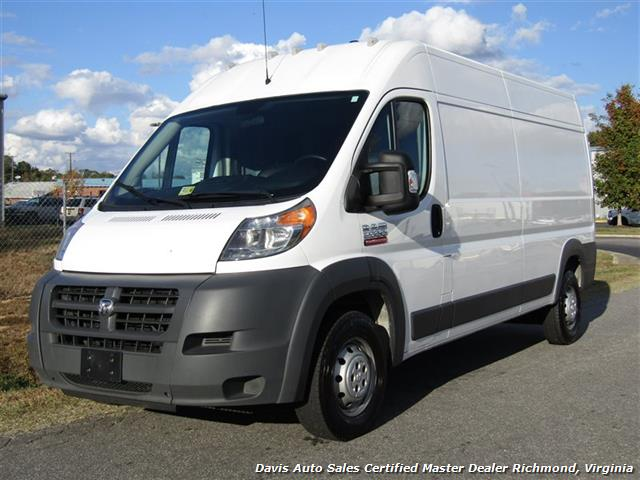 2015 Dodge Ram ProMaster Cargo 2500 159 WB High Top Roof Commercial Work Sprinter - Photo 1 - Richmond, VA 23237