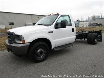 2003 Ford F-350 Super Duty XL Regular Cab Chassis Dually Truck