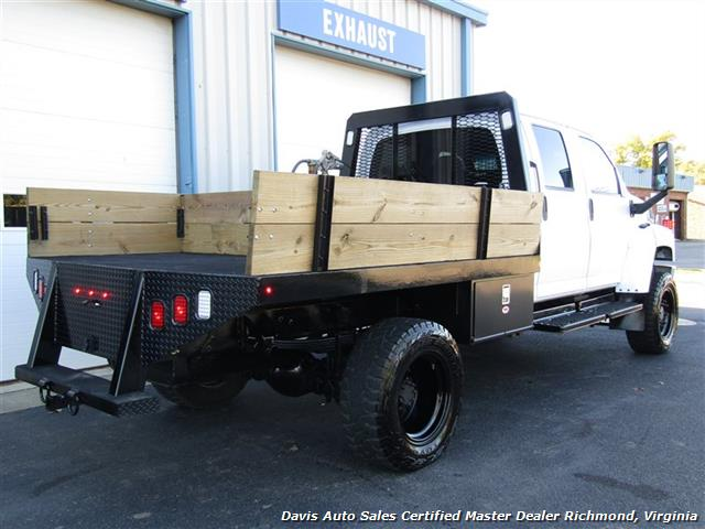 2006 GMC Topkick Kodiak C K 5500 6.6 Duramax Diesel Lifted 4X4 Crew Cab Flat Bed HD - Photo 9 - Richmond, VA 23237