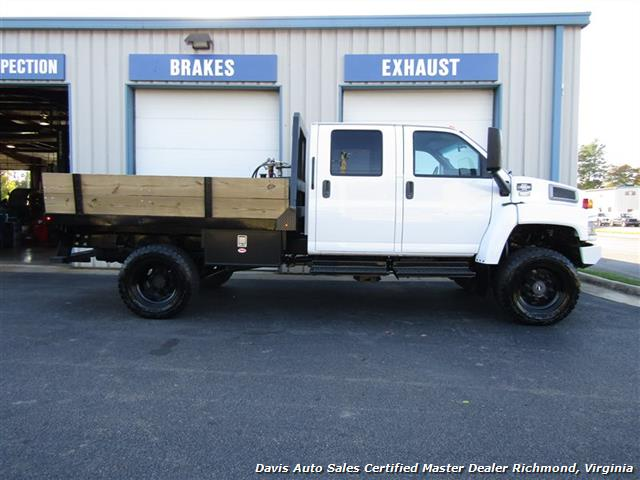 2006 GMC Topkick Kodiak C K 5500 6.6 Duramax Diesel Lifted 4X4 Crew Cab Flat Bed HD - Photo 11 - Richmond, VA 23237