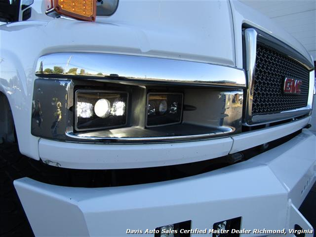 2006 GMC Topkick Kodiak C K 5500 6.6 Duramax Diesel Lifted 4X4 Crew Cab Flat Bed HD - Photo 14 - Richmond, VA 23237