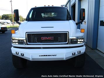 2006 GMC Topkick Kodiak C K 5500 6.6 Duramax Diesel Lifted 4X4 Crew Cab Flat Bed HD - Photo 30 - Richmond, VA 23237