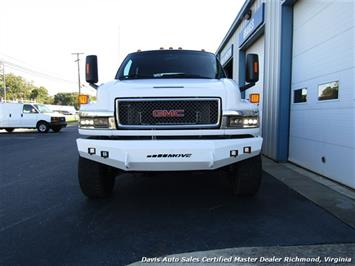 2006 GMC Topkick Kodiak C K 5500 6.6 Duramax Diesel Lifted 4X4 Crew Cab Flat Bed HD - Photo 13 - Richmond, VA 23237