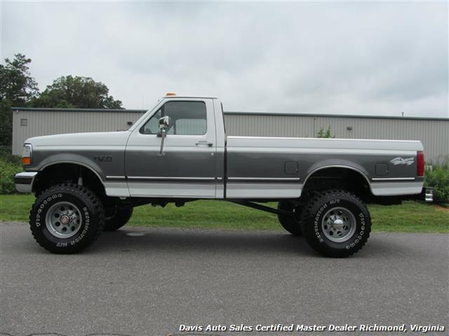 Ford F  Regular Cab Long Bed Lifted