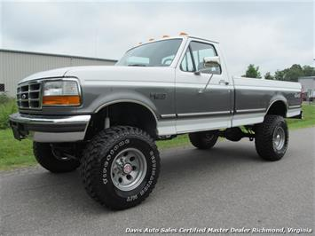 1993 Ford F-350 XLT 7.3 Manual 4X4 Regular Cab Long Bed Truck
