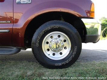 1999 Ford F-250 Super Duty XLT 7.3 Diesel 6 Speed Manual Quad Cab - Photo 12 - Richmond, VA 23237