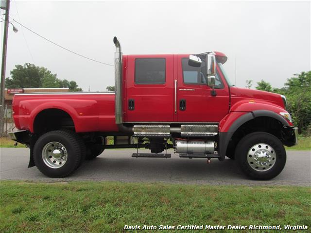 International Cxt 4x4 For Sale >> 2006 International 7300 CXT Navistar 4X4 Crew Cab Long Bed Dually