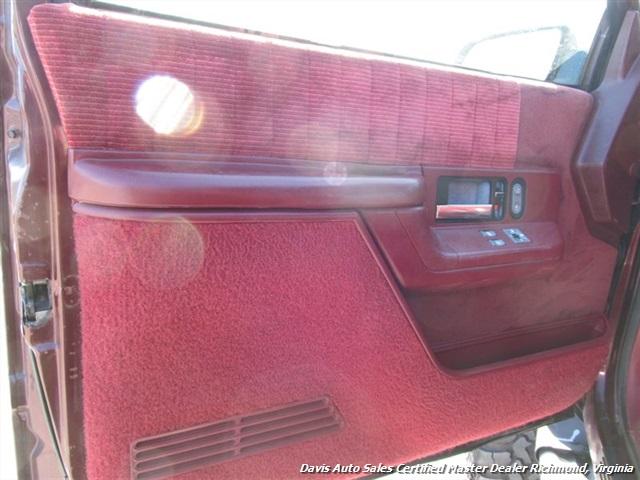 C on 1993 Chevy Blazer 4x4 Full Size
