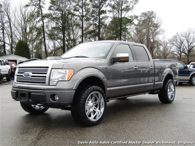 2009 ford f 150 platinum lariat 4x4 crew cab short bed. Black Bedroom Furniture Sets. Home Design Ideas