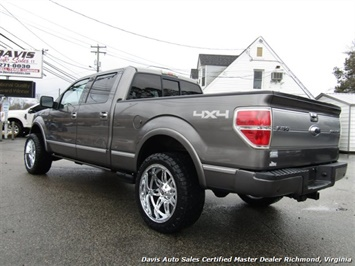 2009 Ford F-150 Platinum Lariat 4X4 Crew Cab Short Bed - Photo 3 - Richmond, VA 23237