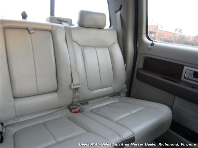 2009 Ford F-150 Platinum Lariat 4X4 Crew Cab Short Bed - Photo 30 - Richmond, VA 23237