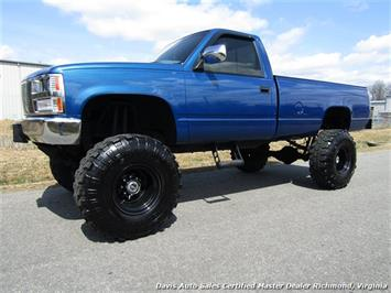 1989 Chevrolet Silverado C K 1500 4X4 Lifted Solid Axle Regular Cab Long Bed Truck