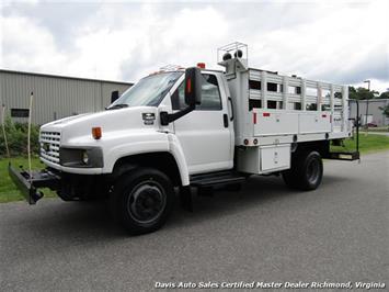 2008 Chevrolet C4500 Kodiak/Topkick Duramax Diesel Regular Cab Flat Bed Utility Work Truck