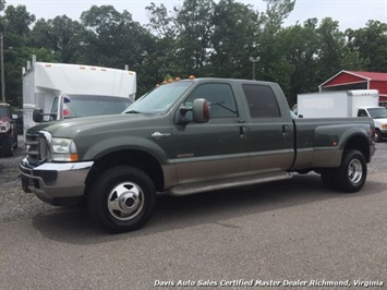 2004 Ford F-350 Super Duty Lariat King Ranch FX4 Crew Cab Long Bed Truck
