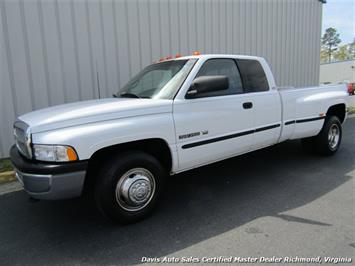 1998 Dodge Ram 3500 Laramie SLT Dually Quad Cab Long Bed Low Mileage Truck