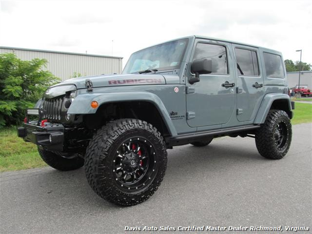 2014 Jeep Wrangler Unlimited Rubicon AEV 4X4   Photo 1   Richmond, VA 23237
