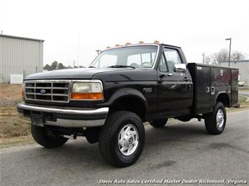 1996 Ford F-350 Superduty OBS Classic Utility Body 4x4 7.3 Diesel Truck