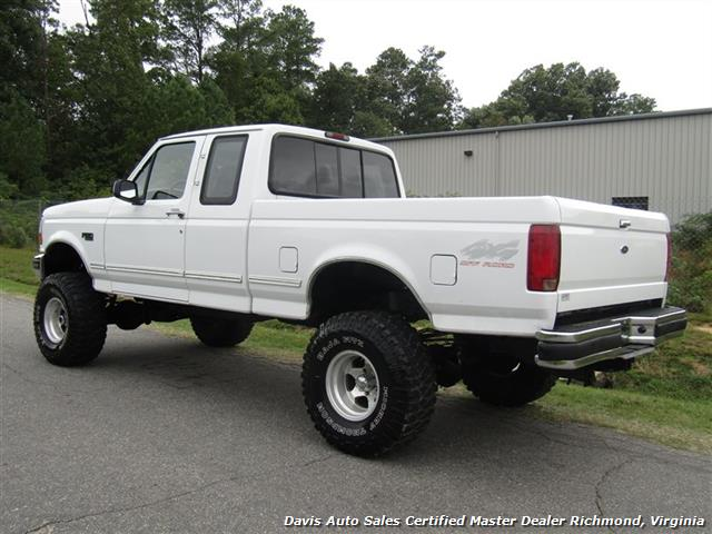 1996 Ford F 150 Xlt Obs Lifted 4x4 Extended Cab Short Bed