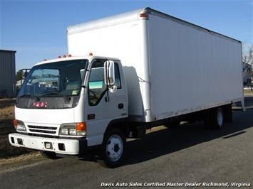 2005 GMC Savanna 5500 Diesel WT 24 Foot Commercial Work Box Van Truck