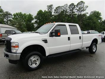 2010 Ford F-250 Super Duty XL 4X4 Crew Cab Long Bed Commercial