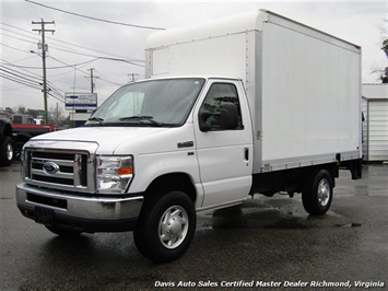 2012 Ford E-350 Cargo Commercial Work Box Van 12 FT With Lift Gate Truck