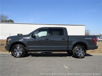 2016 Ford F-150 XLT Sport 4X4 Crew Cab Short Bed - Photo 2 - Richmond, VA 23237