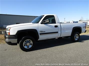 2005 Chevrolet Silverado 2500 HD Work Duramax Diesel Manual 4X4 Regular Cab LB Truck