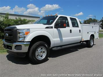 2012 Ford F-350 Super Duty XL 4X4 Crew Cab Reading Utility LB Truck