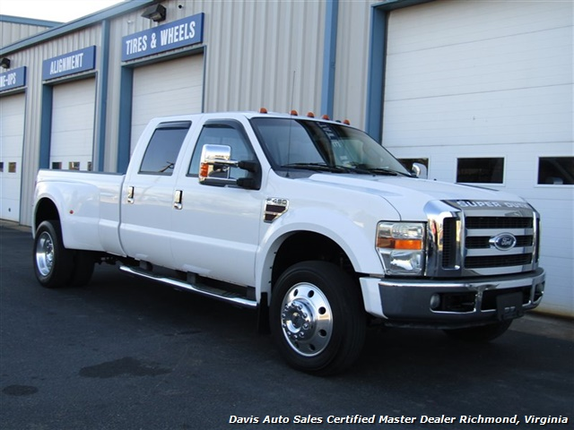 2008 Ford F-450 Super Duty Lariat Diesel Dually Crew Cab Long Bed Low Mileage - Photo 14 - Richmond, VA 23237