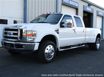2008 Ford F-450 Super Duty Lariat Diesel Dually Crew Cab Long Bed Low Mileage Truck