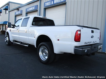 2008 Ford F-450 Super Duty Lariat Diesel Dually Crew Cab Long Bed Low Mileage - Photo 3 - Richmond, VA 23237