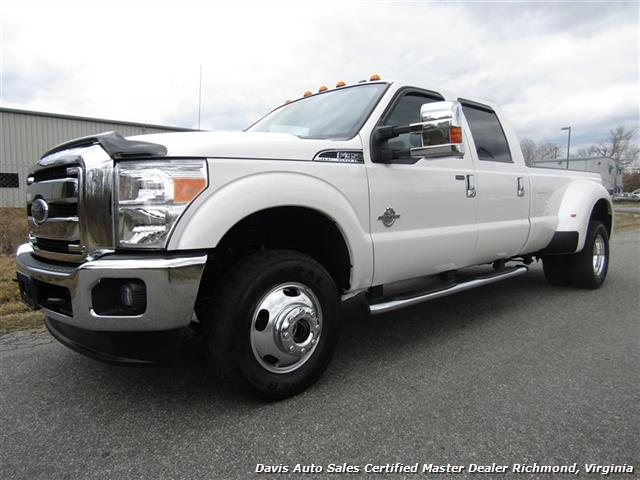 2016 Ford F 350 Super Duty Lariat 4x4 Dually Crew Cab Long Bed Photo