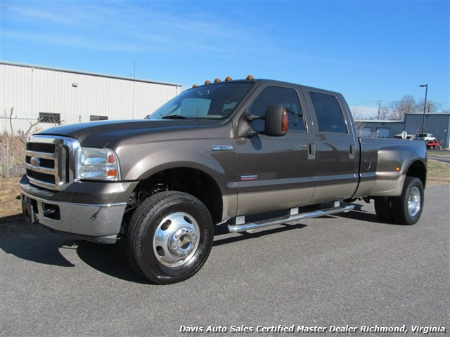 2007 ford f 350 super duty lariat 4x4 fx4 dually crew cab. Black Bedroom Furniture Sets. Home Design Ideas