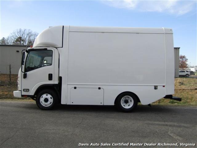 2011 Isuzu NPR Diesel Cab Over Supreme 12 Foot Work Box Van - Photo 2 - Richmond, VA 23237